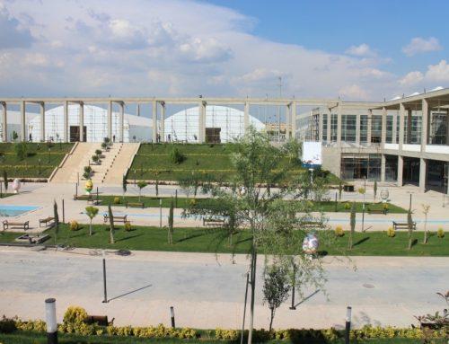 احداث سالن های موقت و دائمی نمایشگاهی در طول ۴۵ روز