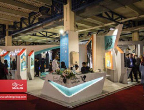 ساخت و ساز غرفه همراه اول در نمایشگاه بین المللی الکامپ